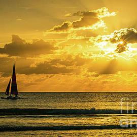 Siesta Key Sunset Sail by Lynne Pedlar
