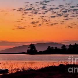 Silhouette Sunset At Tillamook Bay by Beautiful Oregon