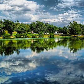 Silver Lake Reflection by James Brotherton