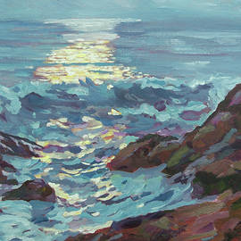 Silver Moonlight by David Lloyd Glover