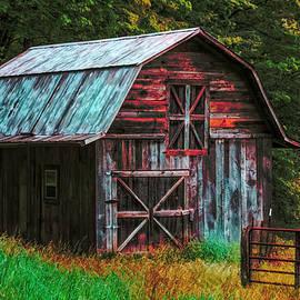 Simple Country Life Painting by Debra and Dave Vanderlaan