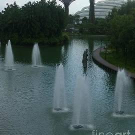 Singapore Fountains by Barbie Corbett-Newmin