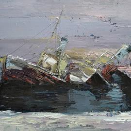 Sinking ship by Kamsar Ohanyan