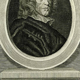 Sir Henry Vane, 17th century advocate of religious tolerance - scan of antique engraving by Terence Kerr