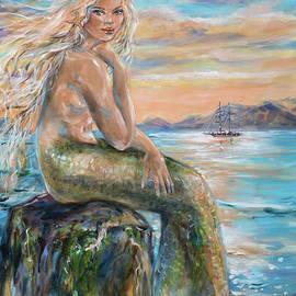 Sirena at Salt Plage by Linda Olsen