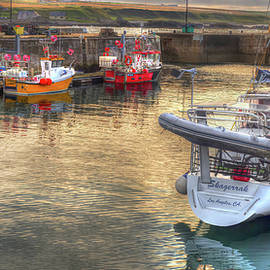 Skagerrak Los Angeles California And Fishing Boats  by OBT Imaging