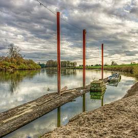 Skagit River Shore by Joshua Spiegler