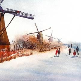 Skating by the Windmills by Tanya Gordeeva