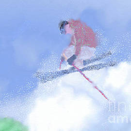 Skiing by Arlene Babad