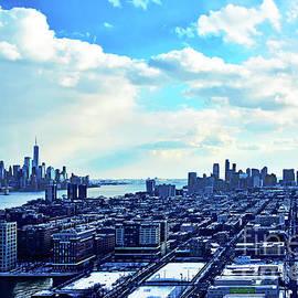 Sky Blues Reflected on NY-NJ by Regina Geoghan