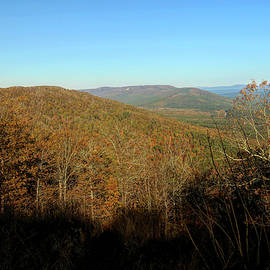 Skyline Drive in Autumn Arkansas by Judy Vincent