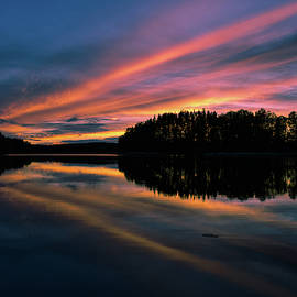 Skylines By Sunset by Markus Varneslahti