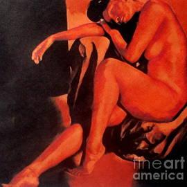 Sleeping Nude by Helena Wierzbicki