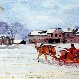 Sleigh Ride by Susan Buscho