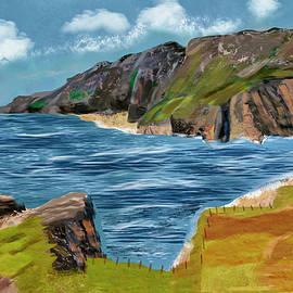 Slieve League Donegal Ireland Irish Landscape  by Kieran Gallagher