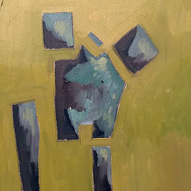 Small Abstract Figure by Brian Comforti