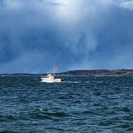 Small Boat Dark Sky