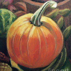 Small Study of a Pumpkin by Rae Raisbeck