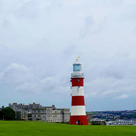 Smeaton's Tower, Plymouth, Devon, England. by Joe Vella