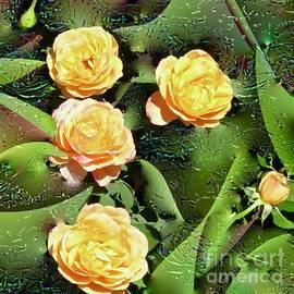 Smiling Roses by Phyllis Kaltenbach