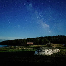 Smokehouse Milky Way and Skiff by Marty Saccone