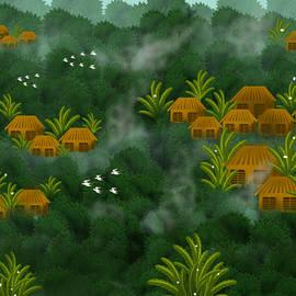Smoky landscape by Anjali Swami