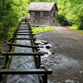 Smoky Mountain Mingus Mill by Norma Brandsberg