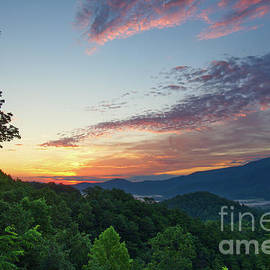 Smoky Mountain Sunrise 7 by Phil Perkins