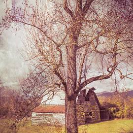 Smoky Mountain Vintage Country Barn II by Debra and Dave Vanderlaan