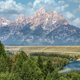Snake River Overlook - GTNP by Stephen Stookey