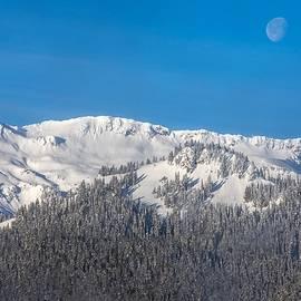 Snow Covered Hills 2 by Lynn Hopwood