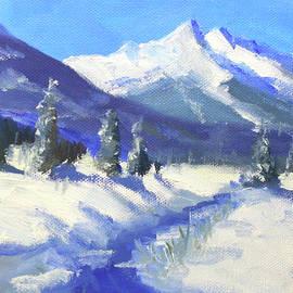 Snow Day Landscape by Nancy Merkle