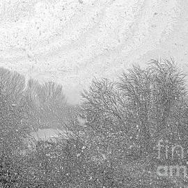 Snow flurry on the moor 2, sketch effect by Paul Boizot