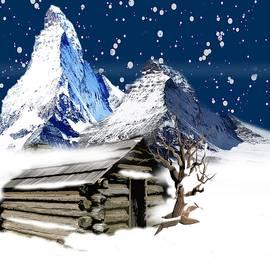 Snow Mountains by Belinda Threeths