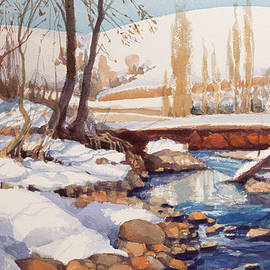 Snow Retreat by Steve Henderson
