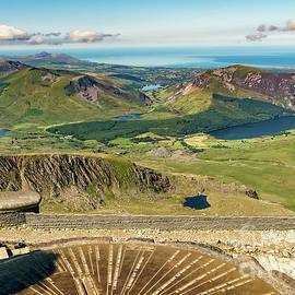 Snowdon Summit View by Adrian Evans
