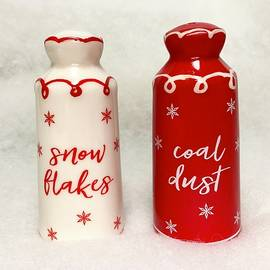 Snowflakes And Coal Dust by Denise Mazzocco