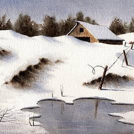 Snowscape by Michael Baker