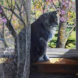 Soaking Up The Spring Sun by Eileen Patten Oliver
