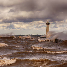 Sodus Point Light by Mike Griffiths