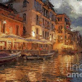 Soft lights over Venice by Rita Di Lalla