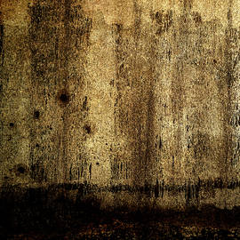 Soil is Gold - Distressed Abstract by Western Exposure