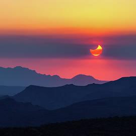 Solar Eclipse by Rick Furmanek