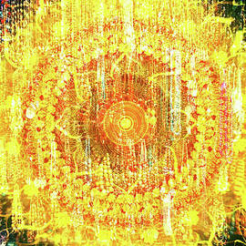 Solar mandala by Ekaterina Yakshina