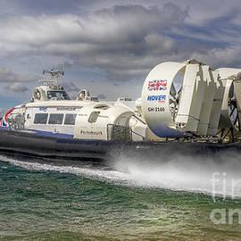 Solent Flyer Hovercraft by Scott Photography