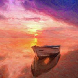 Solitude at Sea by Omid Gohardani