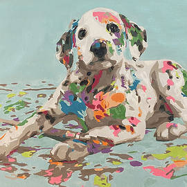 Someone got into the paint. by Ronni Dewey