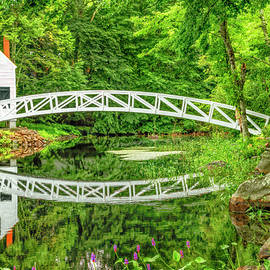 Somesville Bridge, Mount Desert, Maine by Kay Brewer