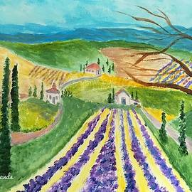 Somewhere in Tuscany by Anne Sands