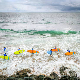 Souls of Surf, Biarritz by Russell Welton